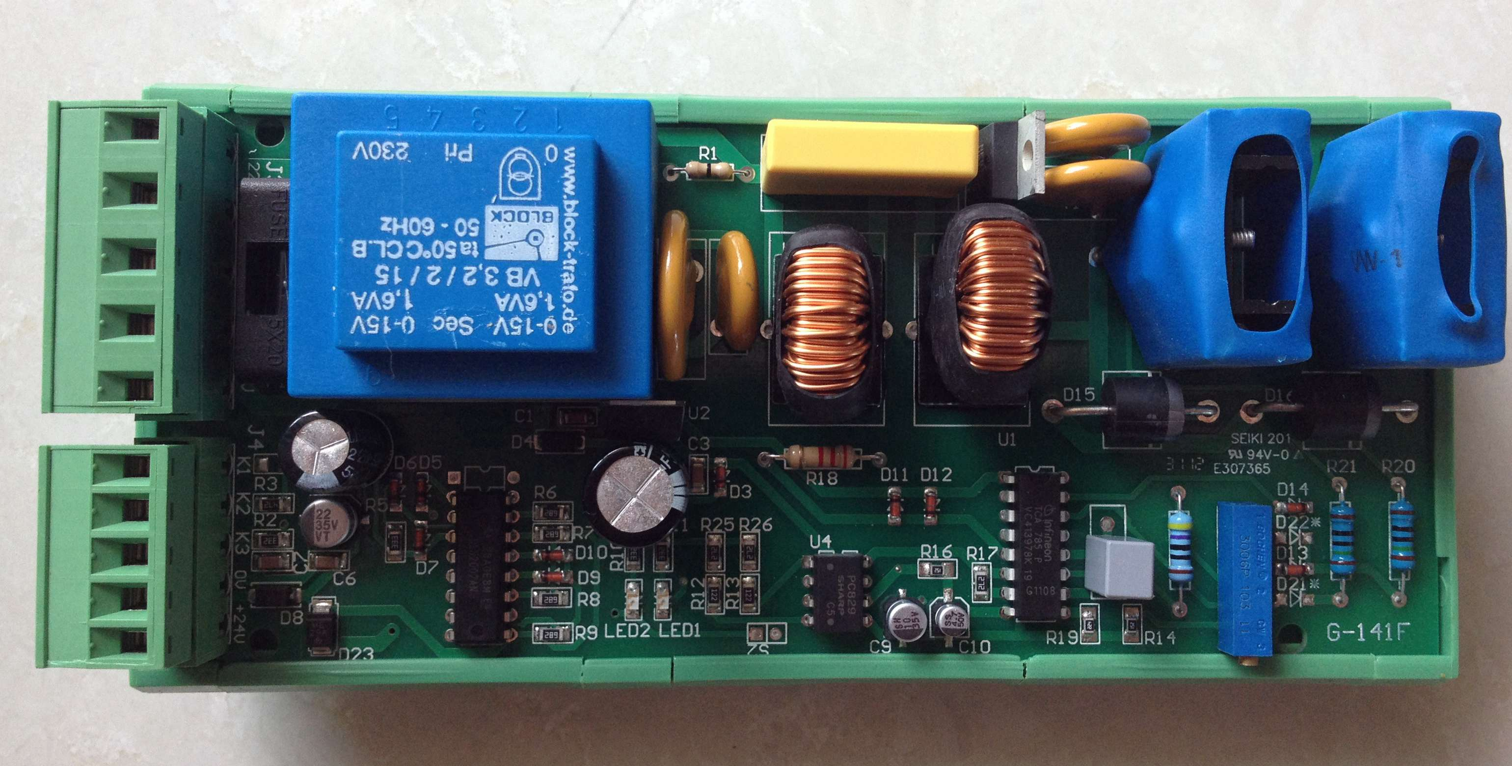 Conscientious Thyssen Elevator Parts Mb2.2/thyssen Brake Brake Controller Board G-141 Smoothing Circulation And Stopping Pains