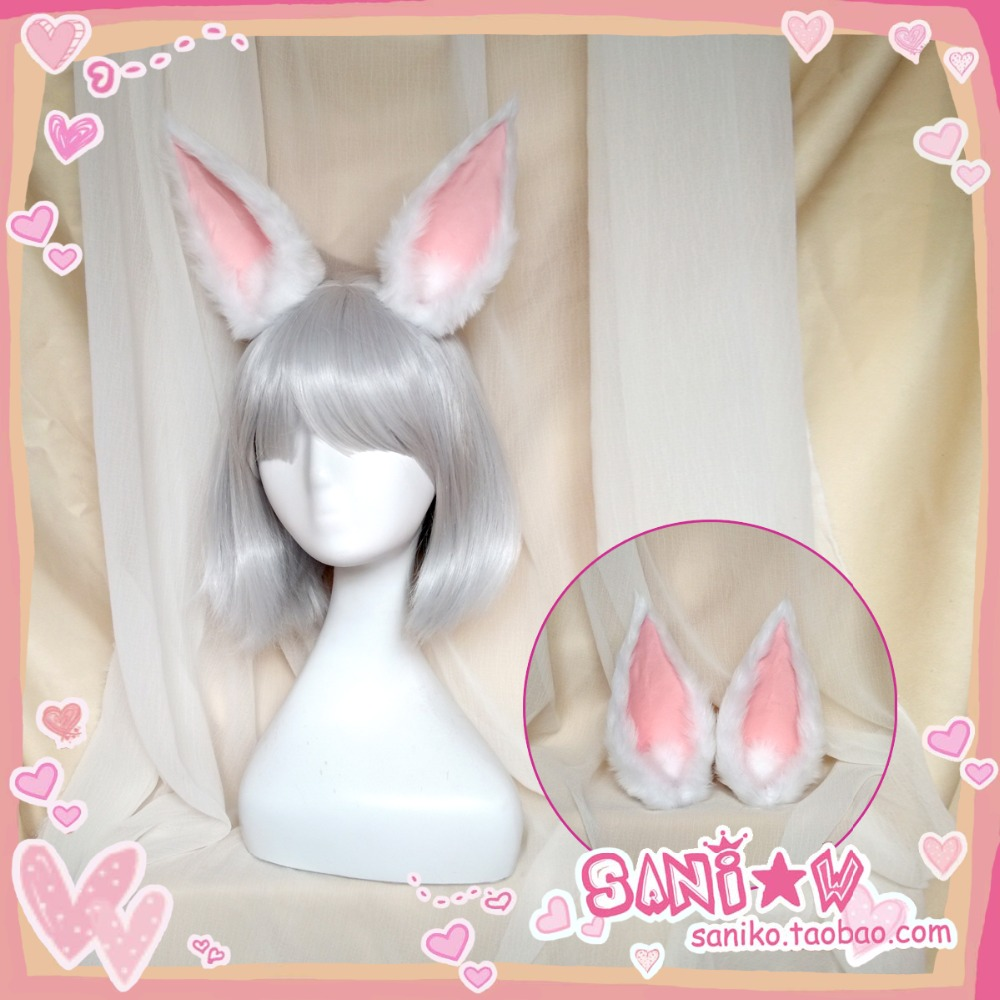 Azur Lane Kaga Cosplay hairwear with ears both include