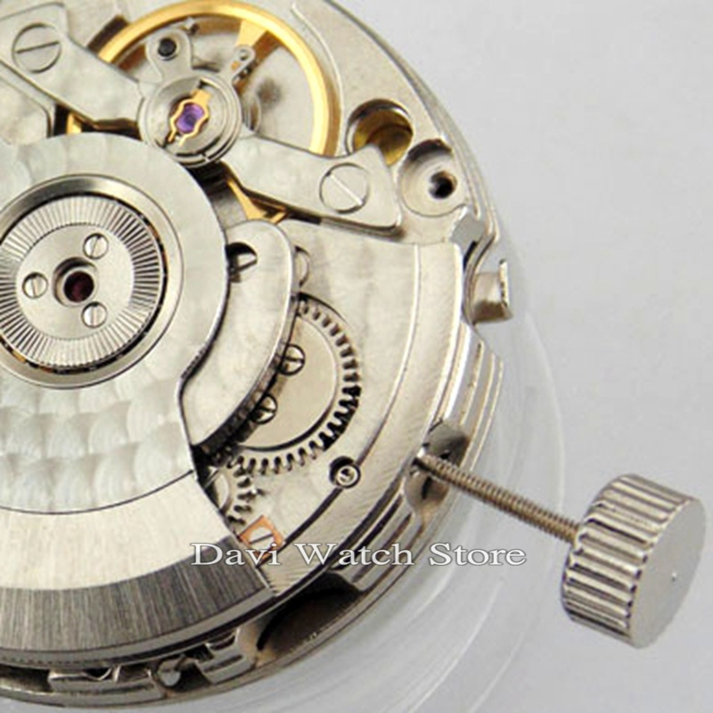Gabbiano 2533 Automatic GMT Data movimento meccanico fit parnis mens watch-in Kit e utensili per riparazioni da Orologi da polso su  Gruppo 3