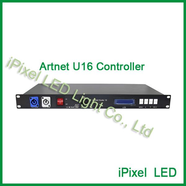 Controlador programável de alta qualidade 16 Artnet DMX universo madtrix 3pin XLR fêmea NÃO-à prova d' água para Dj/night club