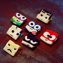 Plue Size Super Heros Boat Socks Hip Hop Batman Superman SpiderMan Captain America Avengers No Show Invisible Socks 7Pairs/Lot диск пильный твердосплавный bosch eco wo 190x20 48t 2 608 644 378