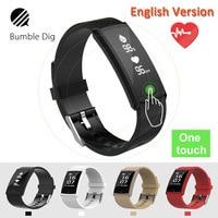B-DIG Smart Wristband Waterproof Heart Rate Monitor Smart Band Fitness Tracker Blood Pressure ip68 gps