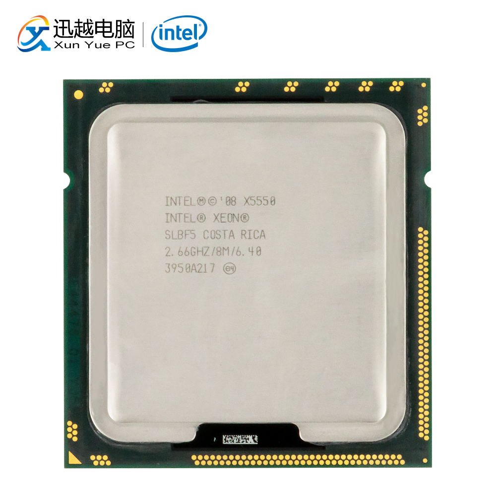 Intel Xeon X5550 Desktop Processor Quad-Core 2.66GHz SLBF5 L3 Cache 8MB LGA 1366 5550 Server Used CPU