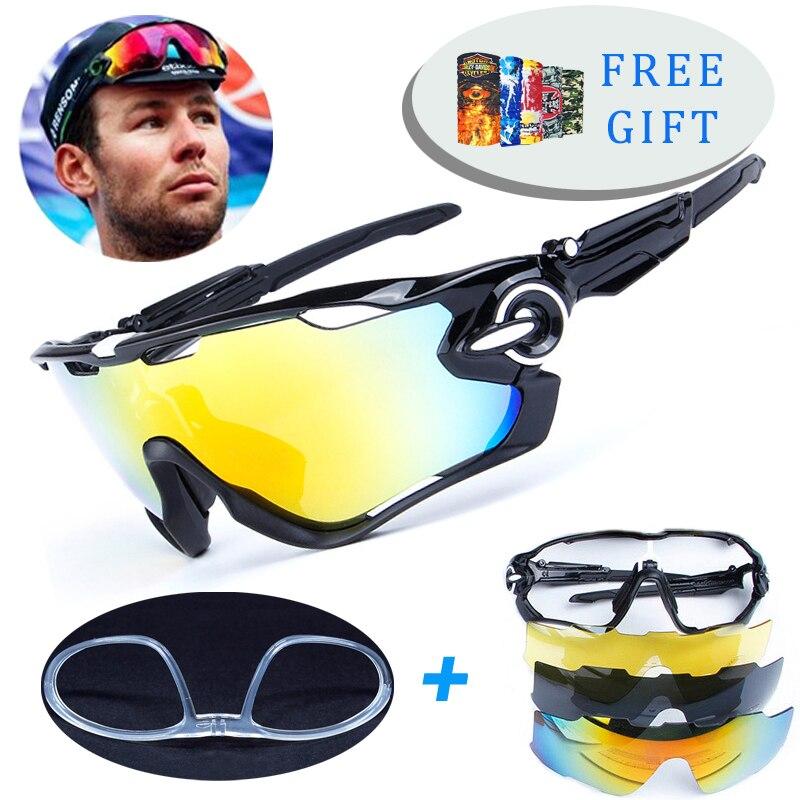 4 objektiv TR90 Outdoor Sports Radfahren Polarisierte Gläser Männer Frauen Fahrrad Brille Fahrrad Radfahren Brillen Sonnenbrille Mit Myopie Rahmen