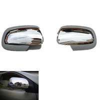 2007 2010 Toyota Corolla ABS Chrome Rearview Mirror Cover Trim Rearview Mirror Decoration