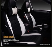 Автокресло Чехлы для JAC K5/3 iev B15 A13 RS уточнить s3/2/5 Блеск autov3/ 5/H220/230/530/320 frv/FSV/Cross/Wagen белые кожаные
