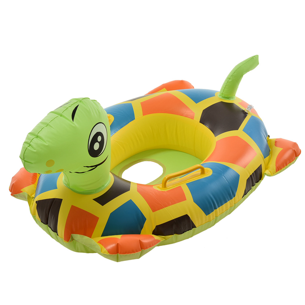 Product details of new inflatable floating swim ring kids children toy - 1pcs New Kids Baby Child Cute Seat Float Boat For Water Sports Inflatable Swimming Laps Pool Animals Swim Ring