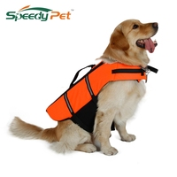 Hot Sell Dog Life Jacket Yellow Pet Product Puppy Cat Life Vest All Size 6 Sizes