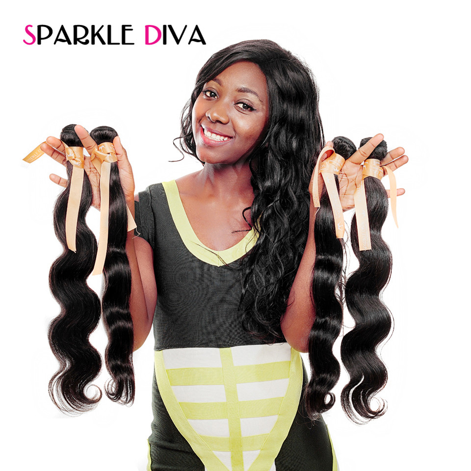 Sparkle diva hair peruvian body wave hair weave 1 piece 100 human sparkle diva hair peruvian body wave hair weave 1 piece 100 human hair bundles 8 28 inch natural color non remy hair extensions in hair weaves from hair pmusecretfo Images