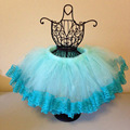 Princess Kids Girl Multi layer Tulle Party Dance Skirts  Short Cake Tutu Skirt 2-8Y Free Shipping