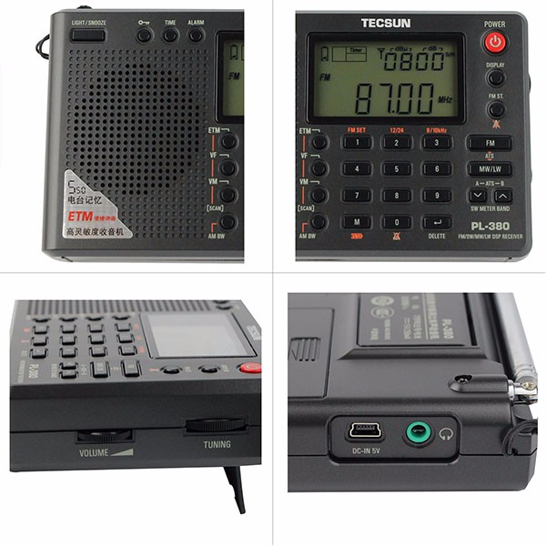 Hot TECSUN PL-380 DSP Radio (2)