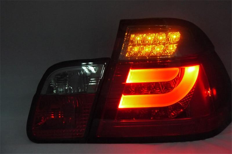 Бесплатная доставка сзади автомобиля лампа для БМВ E46 фара 2001-2004 328i 320i спортивный светодиодные задние фонари ДХО 4 двери автомобиля
