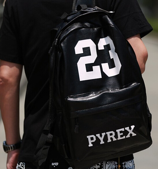 Fashion Bag 2017 New Pu Leather Backpack Pyrex Mens Hiphop Accessory Faux School Backpacks Rucksack