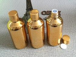 High grade 100pcs golden 100ml essential oil glass dropper bottle glass oil 100ml bottles essential oil.jpg 250x250