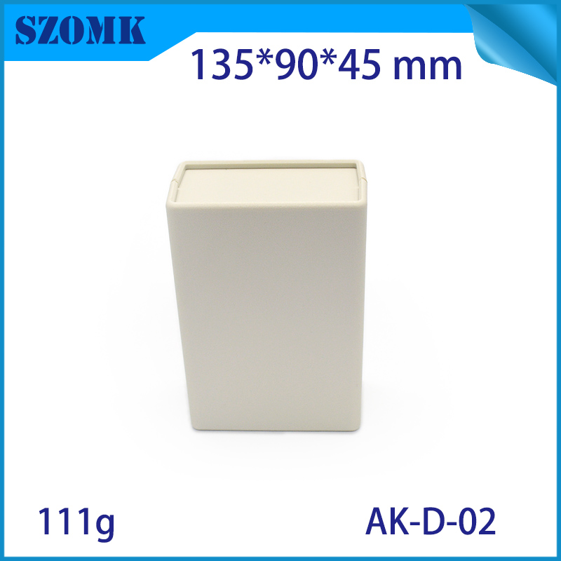 (4 pcs) 133*90*45mm szomk abs plastic enclosure plastic electronic case shell enclosure plastic project box electronics box