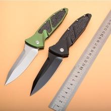 цена 2019 New folding knife Tactical VG-10 blade aluminum Alloy handle outdoor camping hunting survival pocket knives EDC tools онлайн в 2017 году