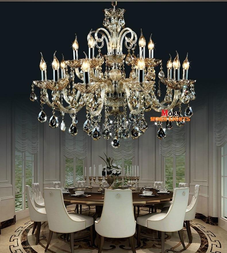 15 Arms crystal chandelier lamp light lustres de cristal Decoration Tiffany Chandeliers Crystal Lustre for Home 10 Merveilleux Lustre Cristal Kgit4