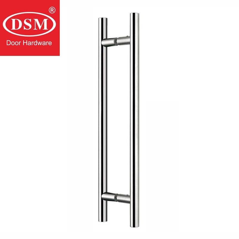 Shower Door Handle Solid Copper Pull Handles For 8~12mm Glass Doors PA-314-19*300mm