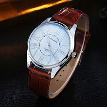 Women Multicolor Mirror Watches Unisex Concise Leather Straps Quartz Waterproof H