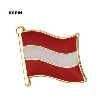 オーストリア国旗バッジ金属ピン服 rozet makara レプリカコイン KS-0019