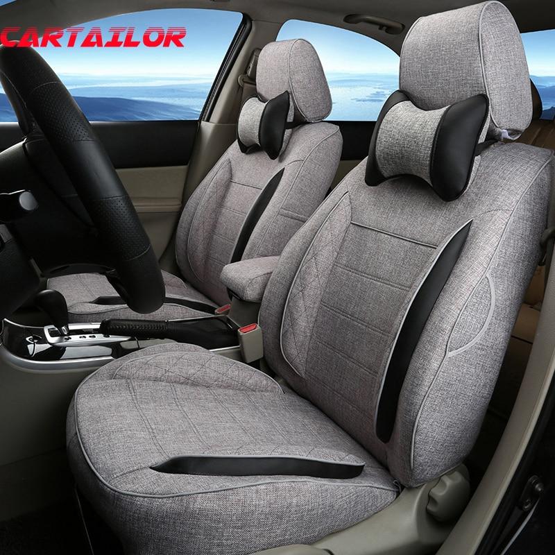 CARTAILOR Cover Seats Custom Fit for Hyundai Elantra 2016 font b Car b font Seat Cover