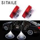 SITAILE Car Doors Lights Logo 12v for Mercedes Benz C GL GLC GLE GLS GLA Badge Emblem Light Led Logo Ghost Shadow Light