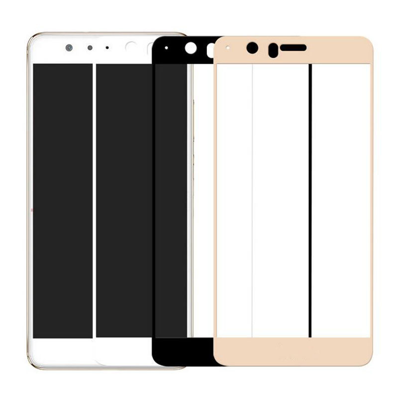 GerTong Full Cover Tempered Glass for Huawei P10 P9 Lite Mini P8 Lite 2017 Mate 10 Pro 10 Lite for Honor 8 7X Screen Protector