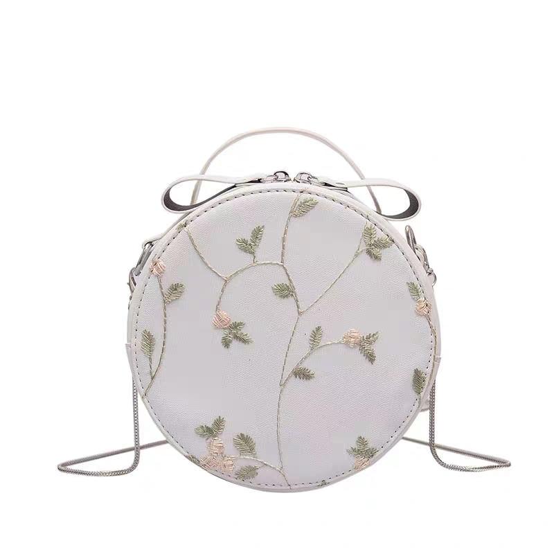 JUILE best selling embroidery wild women bag fashion shoulder Messenger casual mobile phone change handbags women's