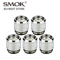 Wholesale 1 2 5 Packs SMOK V8 Baby T6 Sextuple Core 0 2ohm Coil Head For
