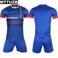 MTTUZB мужчины заплатки способа с коротким рукавом одежды костюм мужской вскользь уменьшают летние костюмы человек clothing sets высокое качество M-XXL