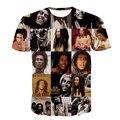 Alisister cotton o-neck women/men's T shirts Reggae Bob Marley 3D printing men T-shirts casual men t shirt hip hop summer tops