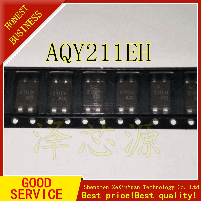 50PCS/LOT AQY211EH 211EH SOP-4 AQY211EHAX Photocoupler