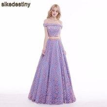 c58adfd429 Compra two pieces dress evening gown y disfruta del envío gratuito en  AliExpress.com
