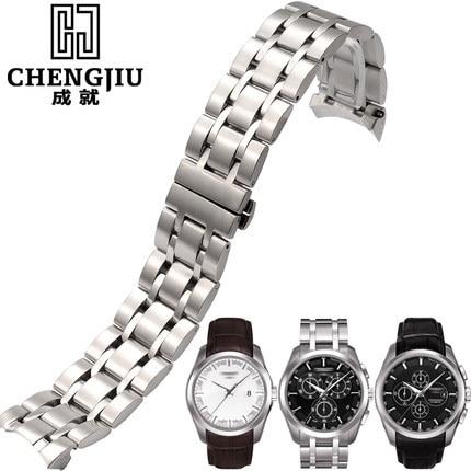 41a43545fba Curvo pulseira de relógio tissot 1853 para t035 couturier para t035627a  Faixa de relógio Pulseira De