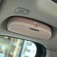 Jameo Auto Car Sunglasses Case Holder Glasses Box Storage For BMW X1 F48 1 2 Series