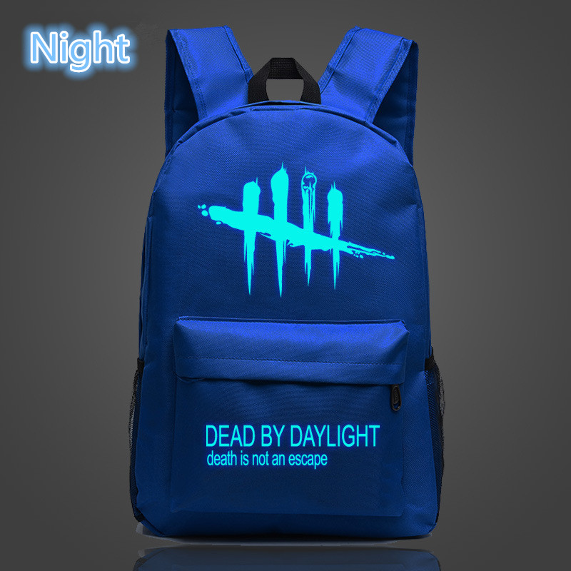 Image 2 - FVIP Cool Game Backpack Dead By Daylight Luminous Backpacks For Teenagers School Bag Travel Bags-in Backpacks from Luggage & Bags