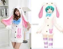 Hatsune Miku Pajamas V MIKU big Rabbit ears Japenese cartoon font b anime b font font