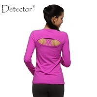 Women S Yoga Shirts Long Sleeve Running Shirts Tops Compression Tights Sportswear Fitness Workout Quick Dry