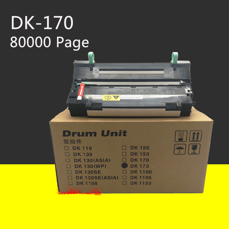 Yanzeo DK110 DK150 DK170 DK130 DK130SE DK1150 DK1153 DK1100 DK1105 pour Kyocera Mita FS-1120D FS-1320D FS-1370DN P2135 Unité De Tambour