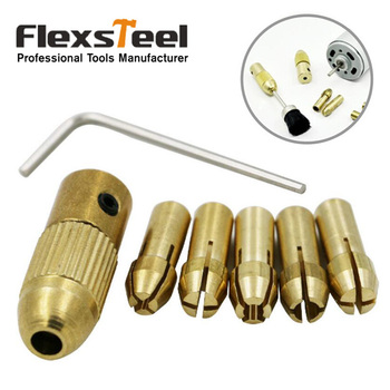 8pcs 0.5/1.0/1.5mm/2.5mm/3.0mm Small Electric Drill Bit Collet Micro Twist Drill Chuck Set with Allen Wrench 12v mini electric motor diy hand drill power tool with 3pcs brass collet 24pcs micro twist drill bit 4pcs hexagon screw wrench