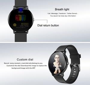 Image 5 - 696 V11 חכם שעון לחץ דם רטט מזג אוויר תחזית Smartwatch גברים נשים פעילות כושר צמיד עבור אנדרואיד IOS