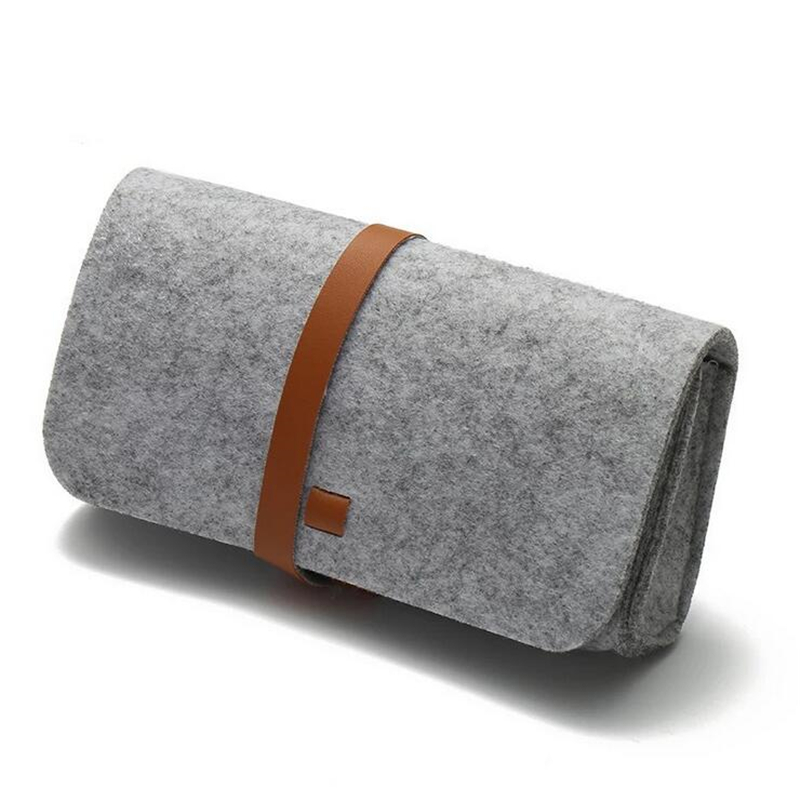 Top-grade Felt Cloth Glasses Boxes High Quality Luxury Fabric Glasses Case Eyeglasses Accessories