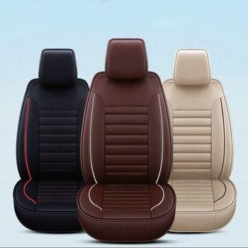 2011 Kia Sorento Zubehör | Auto Sitz Abdeckung PU Leder Fahrzeug Seat Protector Auto Zubehör Für Kia Sorento 2005 2007 2011 2013 2016 2017 Optima 2017 SW