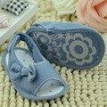 Малыши Девочки Бантом Летом Случайные Мягкой Подошвой Детская Кровать В Обуви 0-18 M SL01