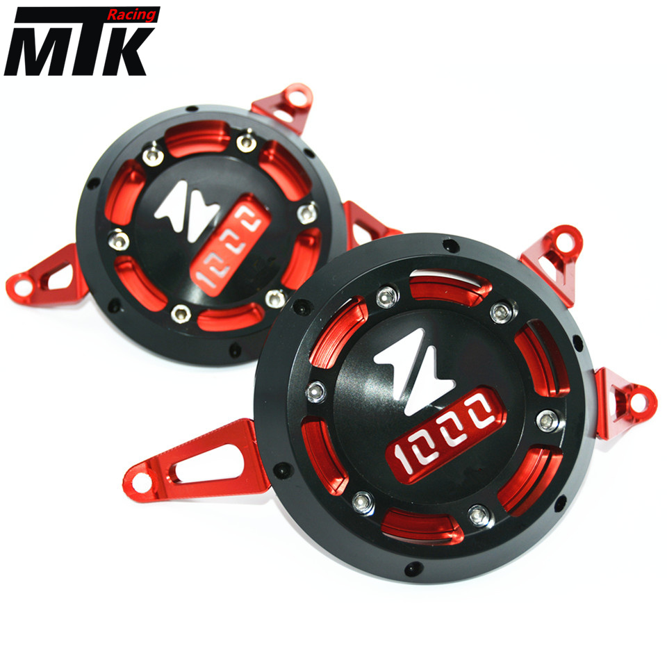 MTKRACING Motorcycle Engine Stator Cover CNC Aluminum Engine Protective Cover Protector For Kawasaki Z1000 Z1000SX 2011-2015 aluminum water cool flange fits 26 29cc qj zenoah rcmk cy gas engine for rc boat