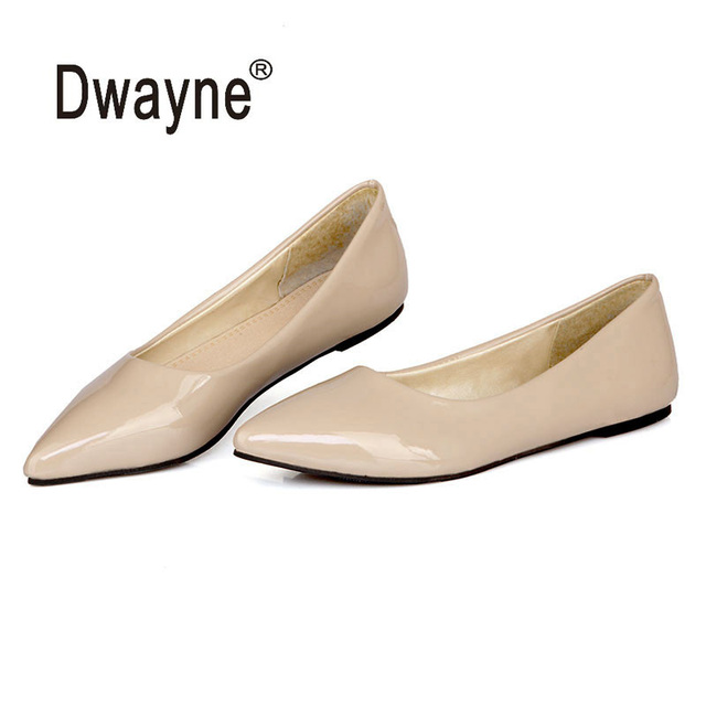 Big Size Women s Shoe Fashion Flats Shoes SB Party Shoes For Women PU  Wedding Shoes chaussure femme zapatos mujer 2942918f6015