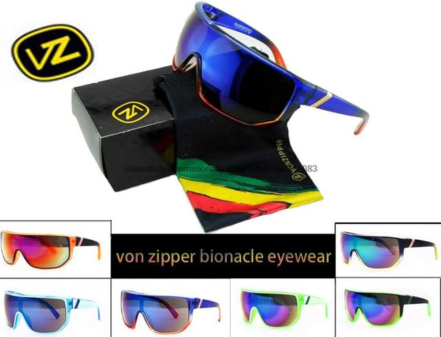 ee46bfca756 ... sunglasses men women brand With Box Fashion von zipper bionacle  sunglasses men women brand designer vz sun glasses uv400 Colorful Goggle oculos  de ...