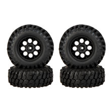 GoolRC 4 Pcs RC Banden 1/10 RC Auto Klimmen Off-road Rubber Velg & Band 260001 voor Traxxas HSP Tamiya HPI Kyosho RC Auto Deel(China)