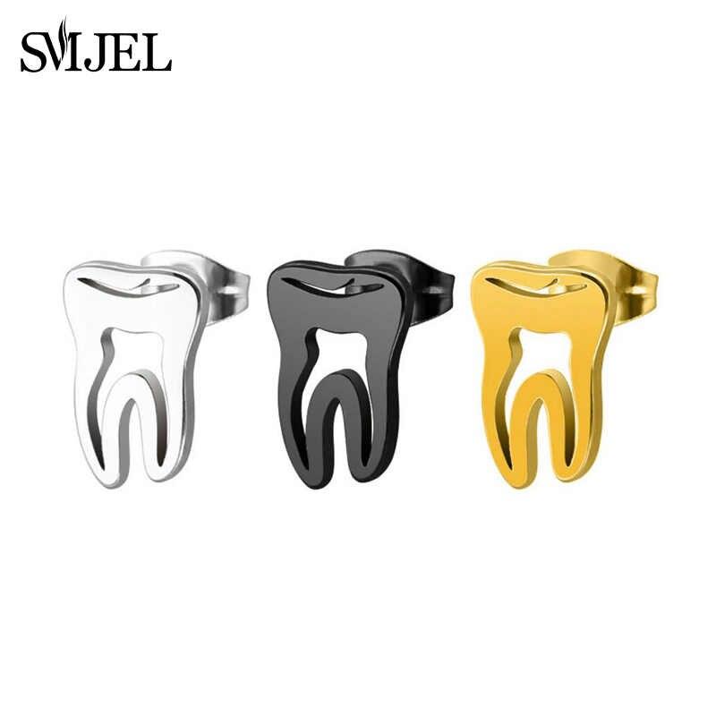 SMJEL แฟชั่นฟันต่างหูหญิงแพทย์ต่างหูสำนักงานสไตล์ Medical ของขวัญเครื่องประดับสำหรับพยาบาลพยาบาลอุปกรณ์เสริม