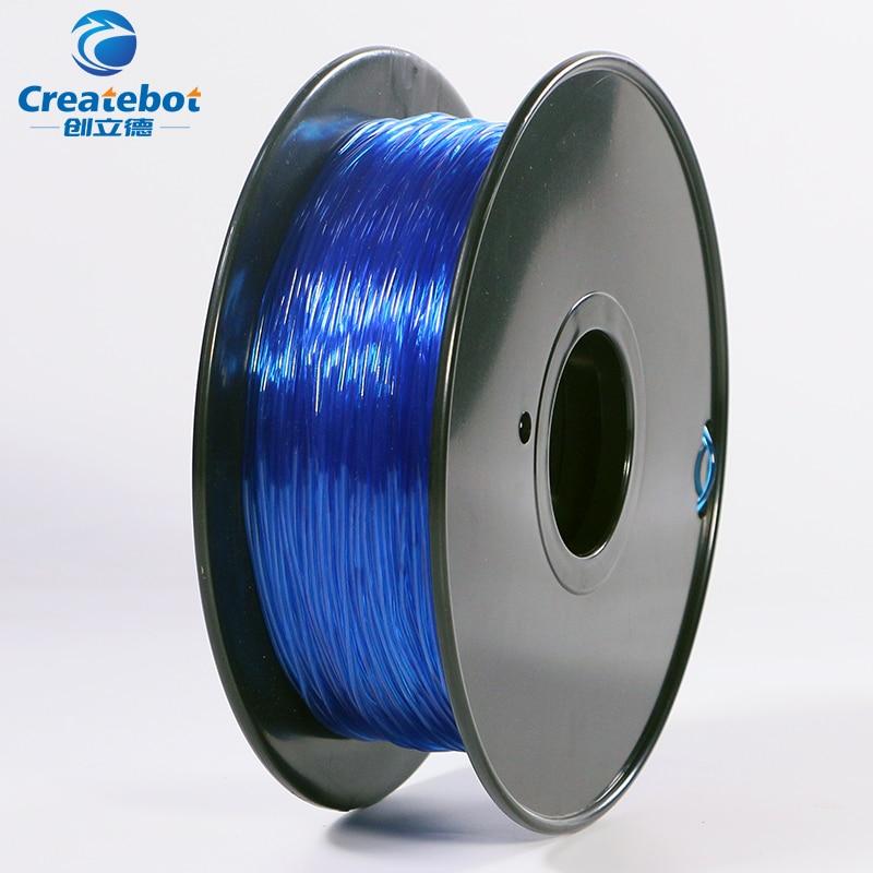 3d printer Flexible filament 1.75mm/3mm 0.8kg filament Impressora 3d Flexible Rubber filament Soft for 3D printing электрочайник de longhi kbi2000 bk